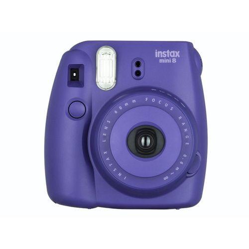 FUJI INSTAX Mini 8 - Violet S'amuser à partager simplement la photo, voilà le nouveau style de vie proposé par les appareils Instax Mini !