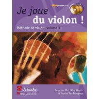 Dehaske - Méthodes Et Pédagogie Je Joue Du Violon Vol.3 + 2 Cd Violon