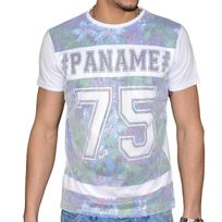 Doger Wear - T Shirt Manches Courtes - Homme - Sd 77 Paname - Blanc