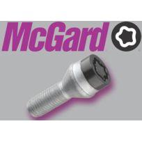 McGard - Lot de 4 vis - 12x125 - L30.5 - H19 - Conique - Noir - Antivol de Roues