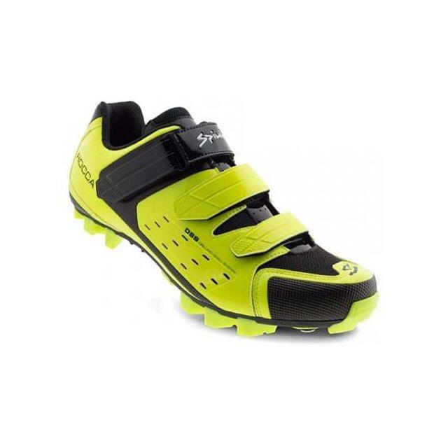 88fd330a431 Spiuk - Chaussures Rocca Vtt jaune - pas cher Achat   Vente Chaussures  cyclisme - RueDuCommerce