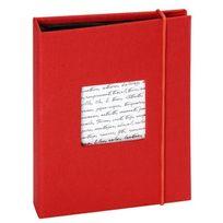 Panodia - Album photos pochettes Linea 36 vues 11.5x15 rouge