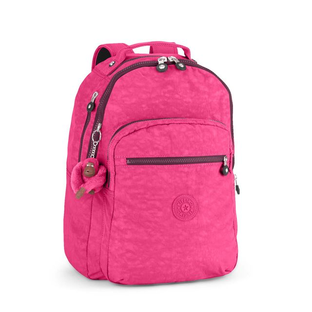 88a8529f3874 Kipling - Sac à dos Clas Seoul 25 litres Pink Berry - pas cher Achat ...