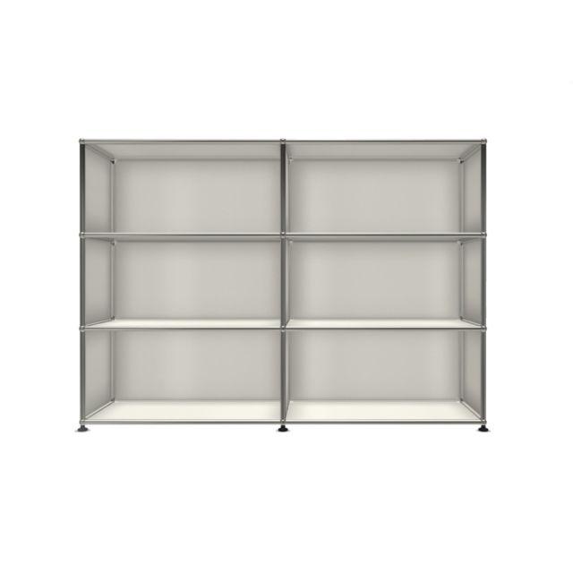 Usm Haller Board 2 x 3 éléments - ouvert - ouvert - ouvert - 24 blanc pur