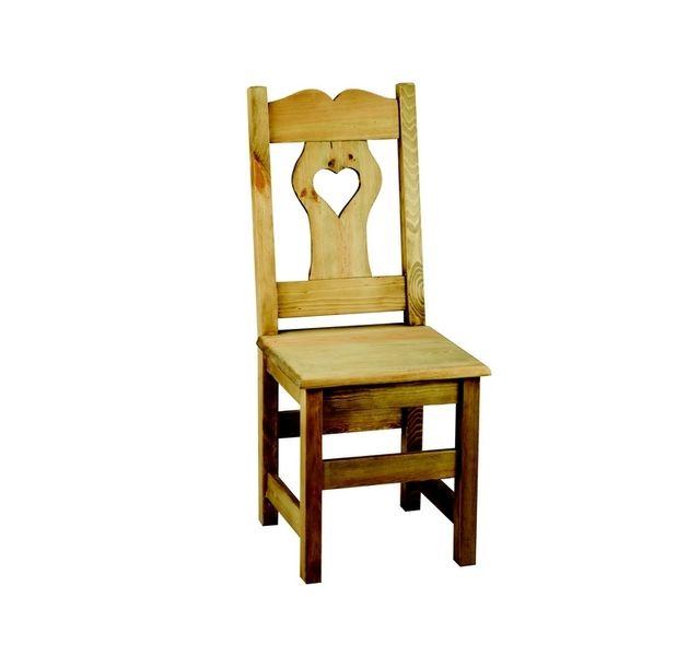 Lebrun Chaise couleur pin coeur Harlem