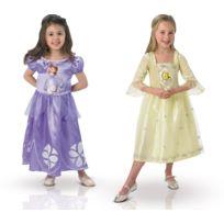 Rubies - Boite Vitrine - Déguisement Princesse Sofia et Ambre - Disney