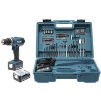 Perceuse visseuse à percussion 14,4 V Li-Ion Ø 10 mm + kit d'accessoires - HP347DWEX3
