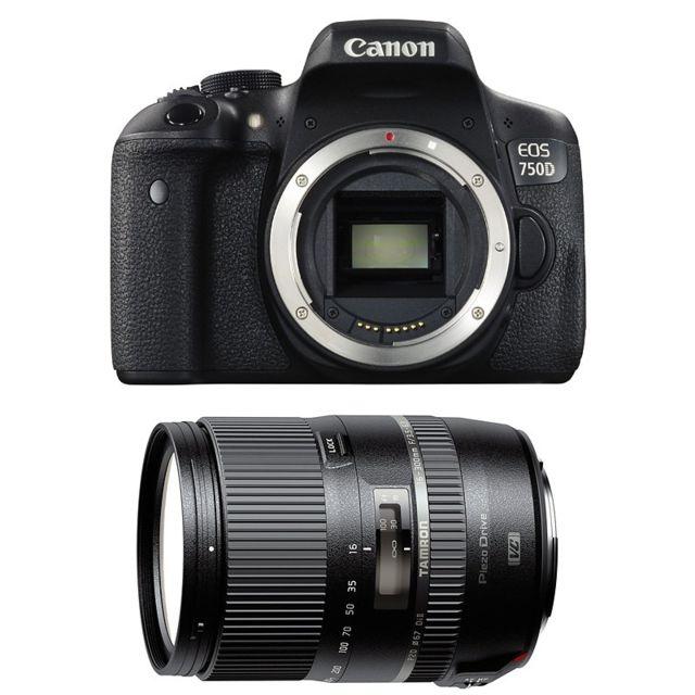 Canon Eos 750D + Tamron 16-300mm F/3.5-6.3 Di Ii Vc Pzd Macro