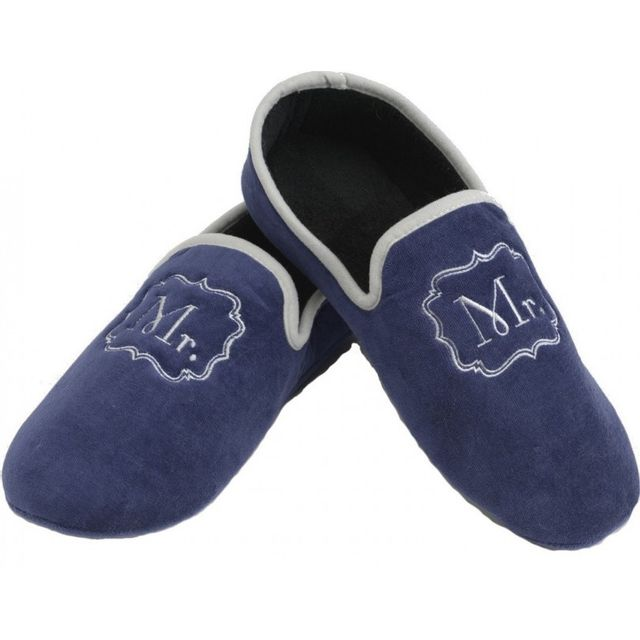 Amadeus Chaussons Mr 44/45 Marine