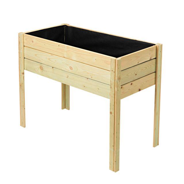 rue du commerce leros carr potager sur pieds pas. Black Bedroom Furniture Sets. Home Design Ideas