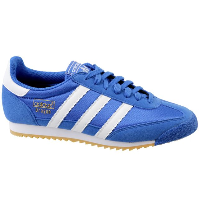adidas dragon homme bleu