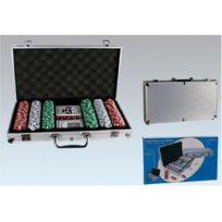 Toyland - Valise De Poker: 300 Jetons De 11,5 Grammes