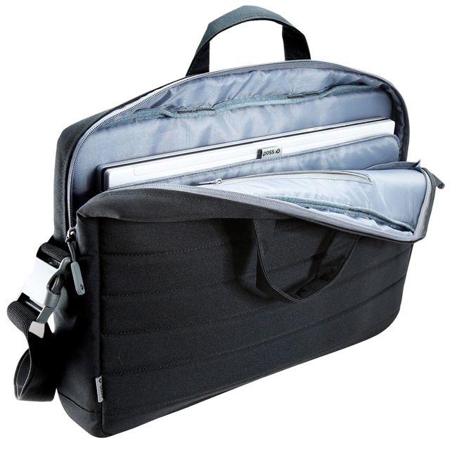 poss sacoche pour ordinateur 17 3 playfulh 17 noir pas cher achat vente sacoche. Black Bedroom Furniture Sets. Home Design Ideas