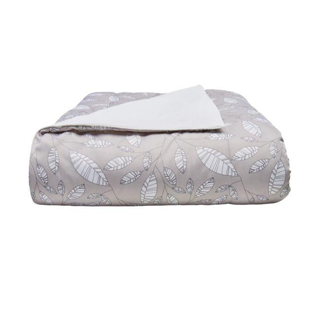 MARQUE GENERIQUE Couette BASIQUE IMPRIMEE en polyester Couette BASIQUE IMPRIMEE en polyester 200x200 cm - beige