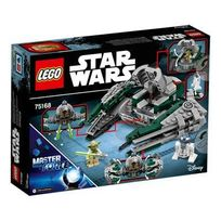 Lego - Star Wars - 75168-Yoda's Jedi Starfighter