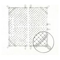 CORDERIE MESNARD - Filet de protection horizontale M100 -FS475100