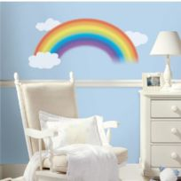 RoomMates - Stickers Arc En Ciel Géant Repositionnables 107x56cm