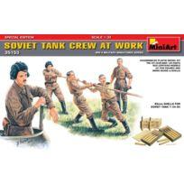 Mini Art - Miniart 1:35 - Soviet Tank Crew At Work SPECIAL Edition, MIN35153