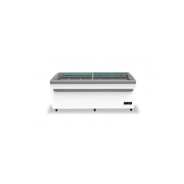 Combisteel Congelateur Vitre Professionnel - 2100 mm