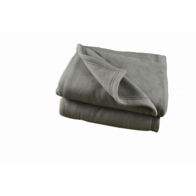 matin calin couverture polaire 240 x 260 cm acier grande largeur pas cher achat vente. Black Bedroom Furniture Sets. Home Design Ideas