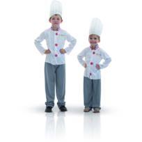 Rubies - Panoplie De Chef Cuisinier - Enfant - Taille : 5/7 ans 108 à 120cm