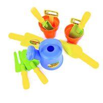 Wonderkids - Wdk Partner - A1500719 - Outillage De Jardin Pour Enfant - Set Du Petit Jardinier - 11 Accessoires