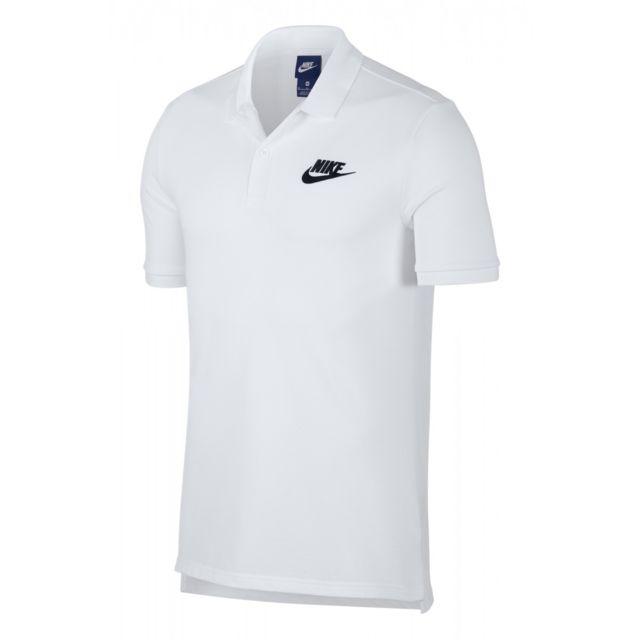 dd42bec45d3e2 Nike - Polo Sportswear - 909746-100 - pas cher Achat / Vente Polo homme -  RueDuCommerce