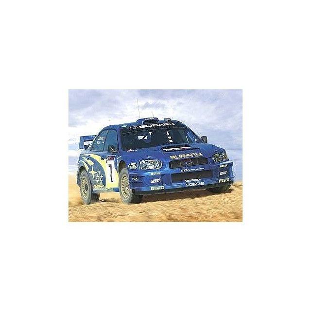 Heller Subaru Impreza Wrc 03 1/24e Accessoires Colle Peinture inclus