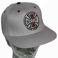 Independent - Casquette baseball flexfit Truck grey