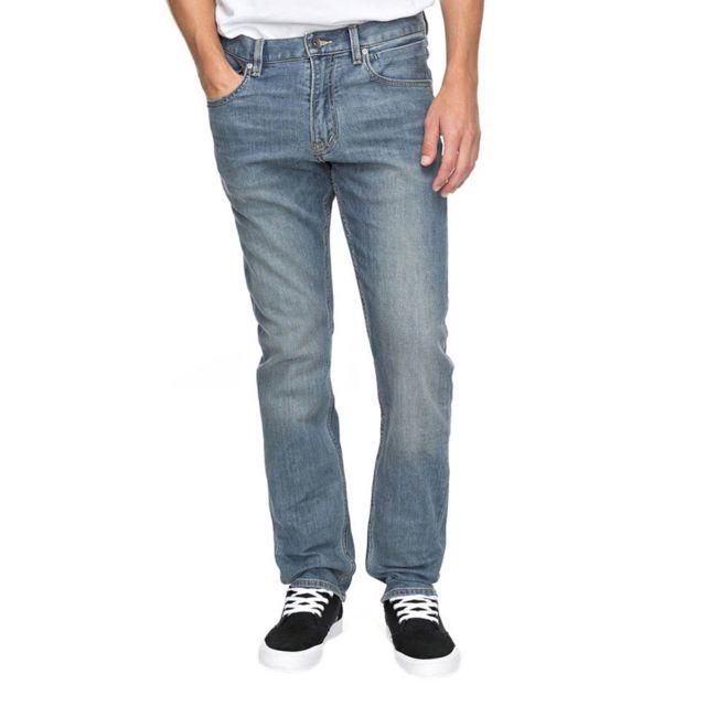 Quiksilver - Quiksilver Revolver Coolmax Surf Jeans Homme - Taille 36 32 -  Bleu bafc55fbc94a