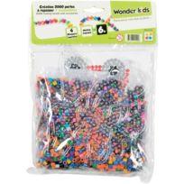 Wonderkids - Wdk Partner - A1400109 - Loisirs CrÉATIFS - Perles Repasser - 2000 PiÈCES