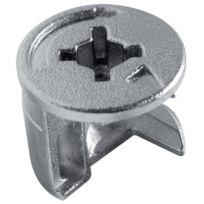 Permo - Piece D'ASSEMBLAGE Excentrique Diametre 15 Mm - Pour Panneau De 16 Mm - Finition:Brut - Cond.:100