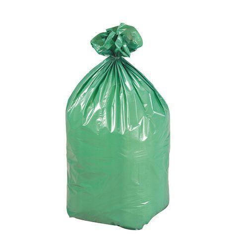 jm plast sac poubelle 110 litres tri s lectif vert carton de 200 pas cher achat vente. Black Bedroom Furniture Sets. Home Design Ideas