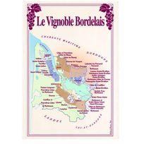 Torchons Et Bouchons - Torchon Vignoble Bordeaux Torchons & Bouchons