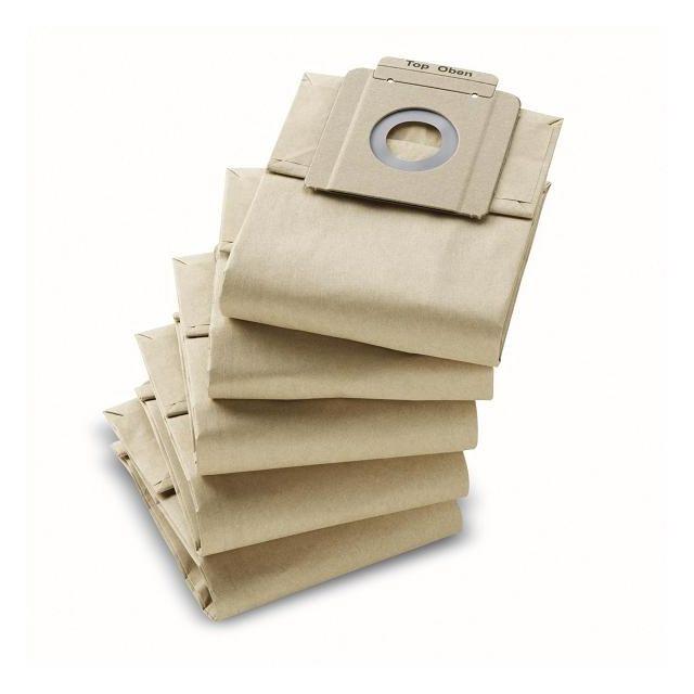 Karcher 10 filtres papier 2 couches pour aspirateurs T7/1 et T10/1