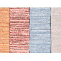 Beliani - Tapis rectangulaire en coton - rouge - 160x230 cm - Derince