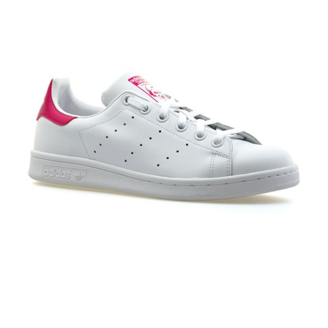 low priced fc305 665d5 Adidas - Stan Smith classic B32703 Blanc   Rose