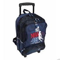 Nba - Sac à dos à roulettes Origin bleu