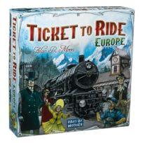 Days of Wonder - Aventuriers Du Rail. Europe - Ticket To Ride Europe - Langue: Anglais