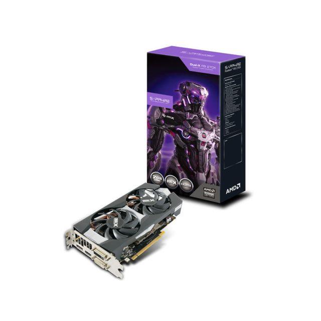 SAPPHIRE TECHNOLOGY - Carte graphique - R9 270X 2G PCI-E LITE - Reconditionné