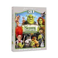 Dreamworks Skg - Shrek 4 - Il était une fin - Le dernier chapitre Combo Blu-ray 3D + Blu-ray 2D