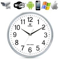 Yonis - Horloge caméra espion Wifi Point to point Android iPhone iPad