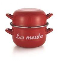 Baumalu - marmite à moules 18cm rouge - 312868