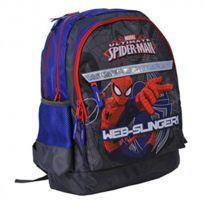 Spider-man - Spiderman Sac à dos scolaire école enfant garçon Disney - Bleu
