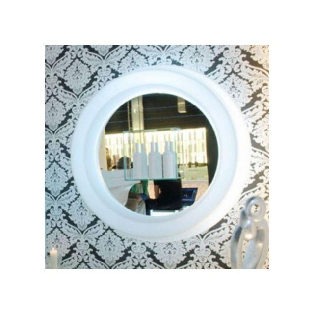 Slide Grand miroir rond lumineux Gio Specchio