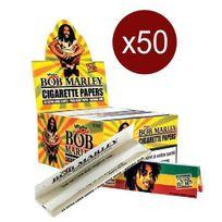Smoking - Bte De 50 Carnets Feuilles King Bob Marley King Size 33F/CARNET