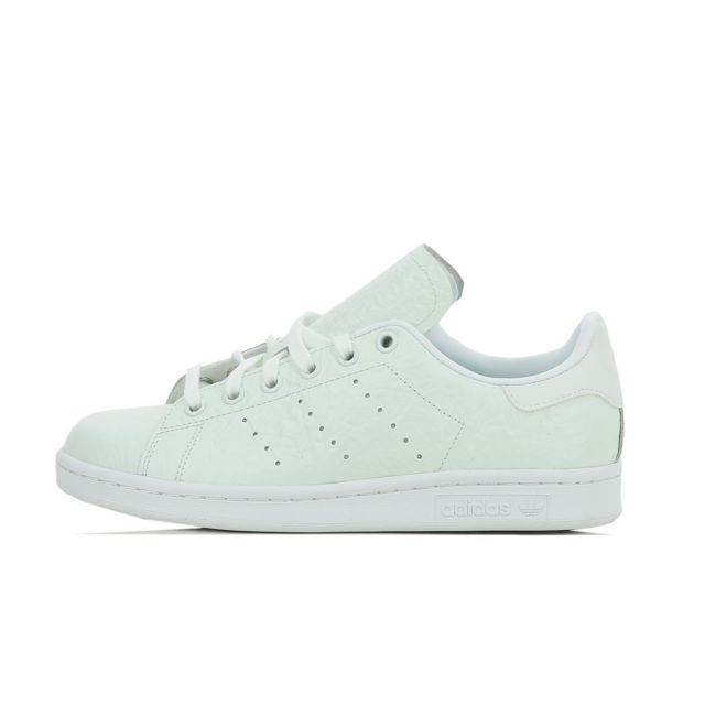 Adidas originals - Basket Stan Smith - S76666 Blanc - 40 2/3 - pas cher Achat / Vente Baskets femme - RueDuCommerce