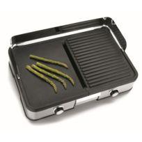 Lacor - Grill et plancha électrique 2000w professionnel pour grillades - Max 240°C - Grill professionnel
