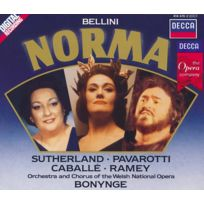 Decca - Vincenzo Bellini - Norma, opéra en 2 actes