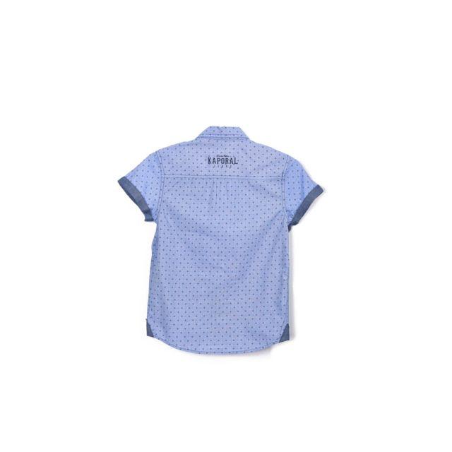 Kaporal Chemise Nerva Bleu Taille 16 Ans